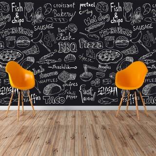 Kafe Duvar Posteri
