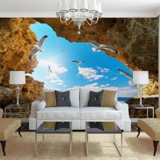 Deniz Manzaralı Duvar Posteri