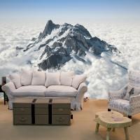 Dağ 3D Duvar Posteri