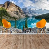 Kanada'da Doğa Manzaralı Duvar Posteri