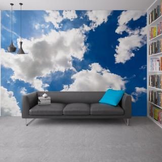 Bulutlar Duvar Posteri