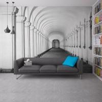 3D Derin Koridor Duvar Kağıdı
