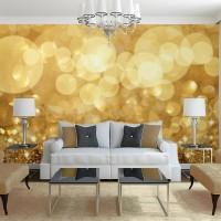 Altın Sarısı Duvar Kağıdı