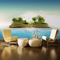 Denizin Üzerindeki Yaşam Duvar Posteri