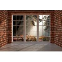 N-1314 Pencereden orman 3D poster