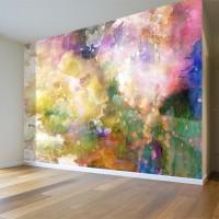 Rengarenk Sanat Eseri Duvar Posteri