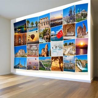 Türkiye Kartpostal Duvar Posteri