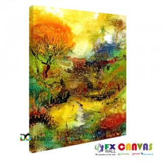 Doğanın Renkleri Kanvas Tablo