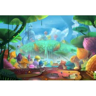 Çocuk Odası Büyülü Orman Duvar Posteri