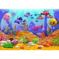 Deniz Altındaki Balıklar Duvar Posteri