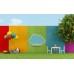 Renkli Duvar Üzerinde Desenler Çocuk Odası Duvar Posteri