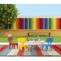 Renkli Kalemler Çocuk Odası Duvar Posteri