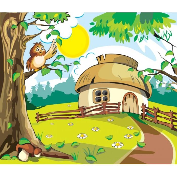 Kasaba Evi Çocuk Odası Duvar Posteri