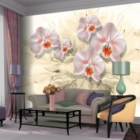 3D Çiçekli Duvar Posteri