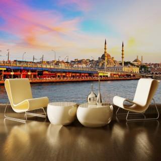 İstanbul Galata Köprüsü Duvar Posteri