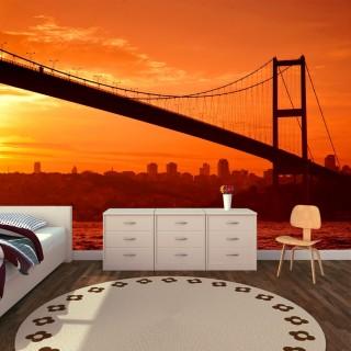 İstanbul Boğaz Köprüsü Duvar Posteri