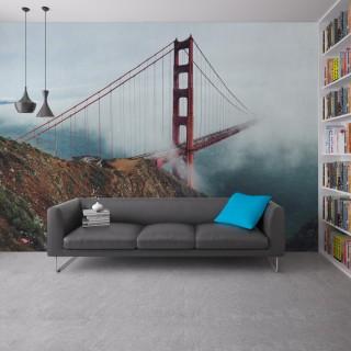Golden Gate Köprüsü - Duvar Posteri