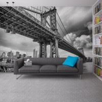 Manhattan Köprüsü  Duvar Posteri