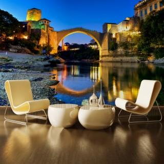 Mostar Köprüsü Duvar Posteri