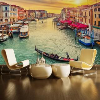 Grand Canal Venedik Duvar Posteri