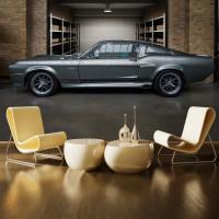 Shelby 1968 Model Araba Duvar Kağıdı