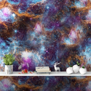 Uzay Boşluğu Bulutsu Galaksiler Duvar Kağıdı