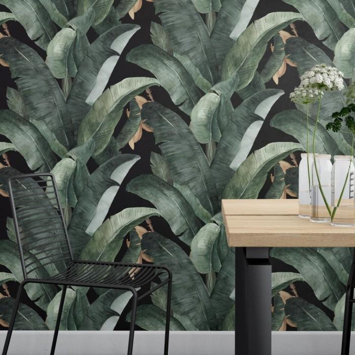 Muz Yaprakları Duvar Kağıdı D912
