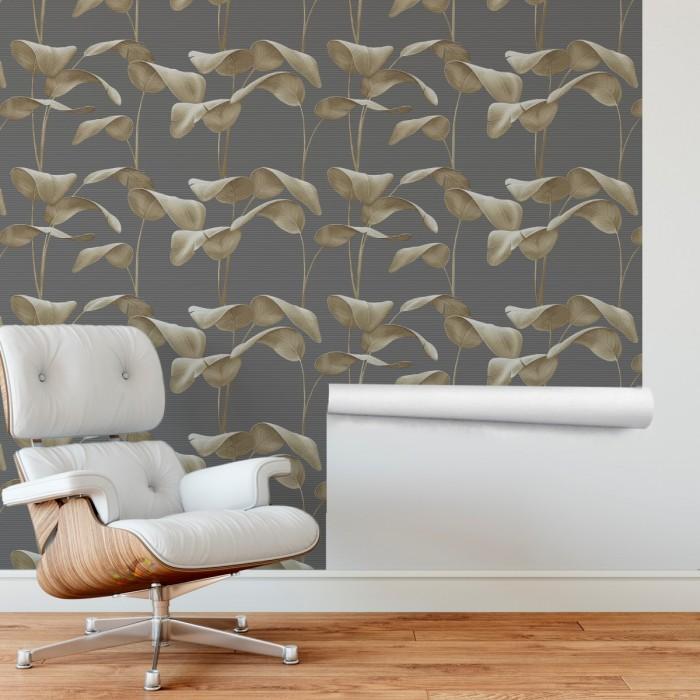 Yapraklar 3D Duvar Kağıdı FD-103-01