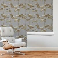 Yapraklar 3D Duvar Kağıdı FD-103-03