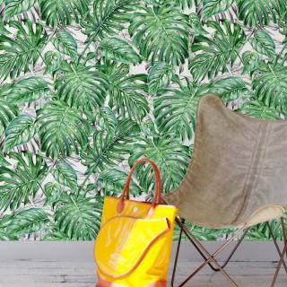 Yapraklar Tropikal Duvar Kağıdı FD-103-12