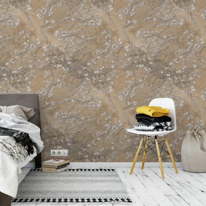 Çiçekli Ağaç Dalı Duvar Kağıdı FD-103-31