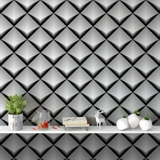 Geometrik Çizgiler Duvar Kağıdı