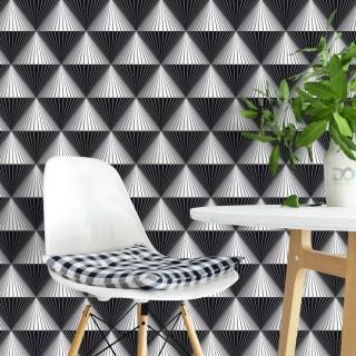Geometrik Çizgiler Elmas Duvar Kağıdı