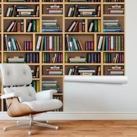 Kitaplık Duvar Kağıdı FD-206-01