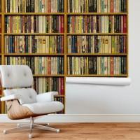 Kitaplık Duvar Kağıdı FD-206-02