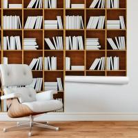 Kitaplık Duvar Kağıdı FD-206-03