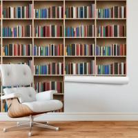 Kitaplık Duvar Kağıdı FD-206-04