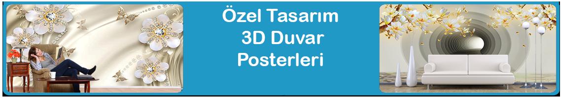Özel Tasarım 3D posterler